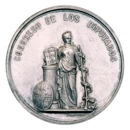 Medalla de diputado de las Constituyentes