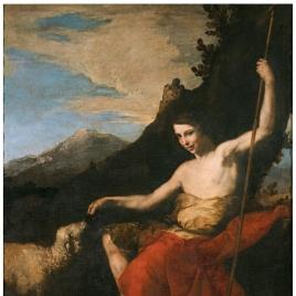 San Juan Bautista en el desierto