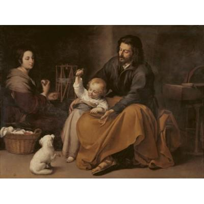 """The Holy Family with a Little Bird"""