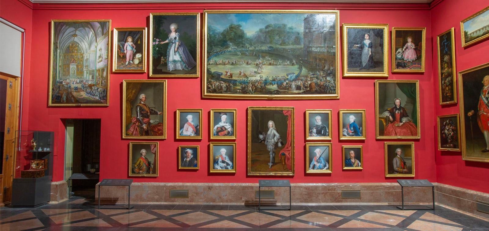 <em>El Gabinete de descanso de Sus Majestades. Una galería de los Borbones en España en retratos de Rigaud a Goya</em>
