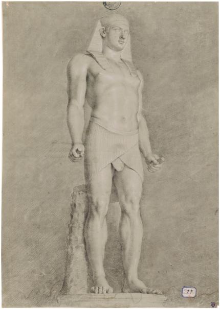 Antínoo como Osiris
