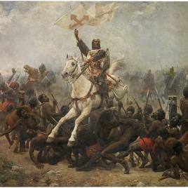 El triunfo de la Santa Cruz en la batalla de las Navas de Tolosa