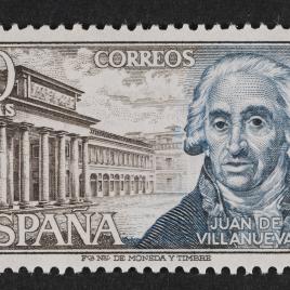 Serie de sellos Personajes Españoles