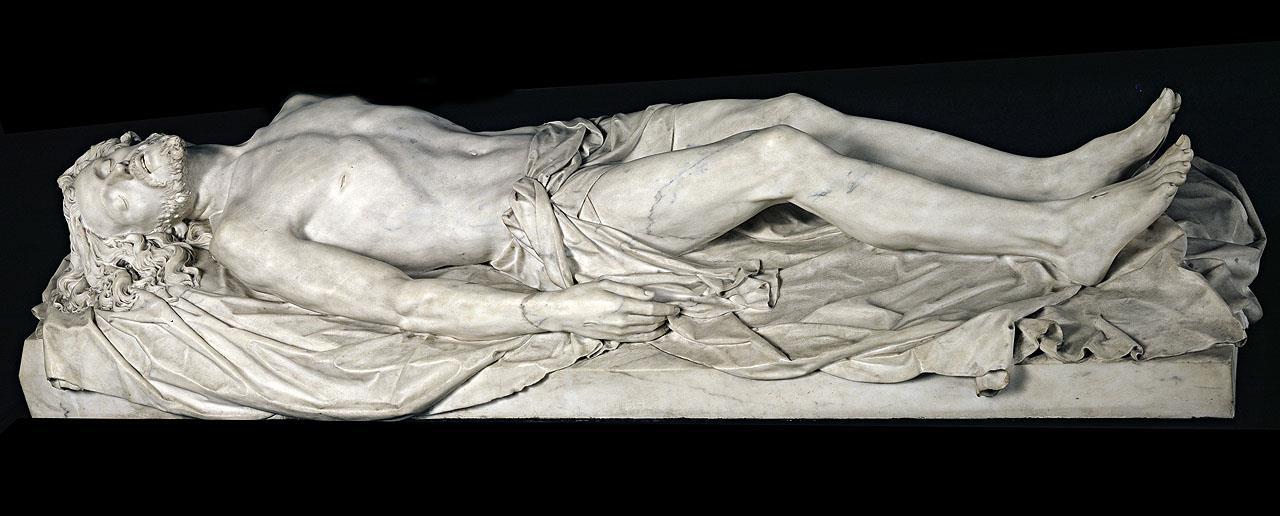 Cristo yacente [Agapito Vallmitjana]