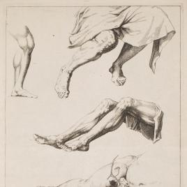 Estudios de piernas