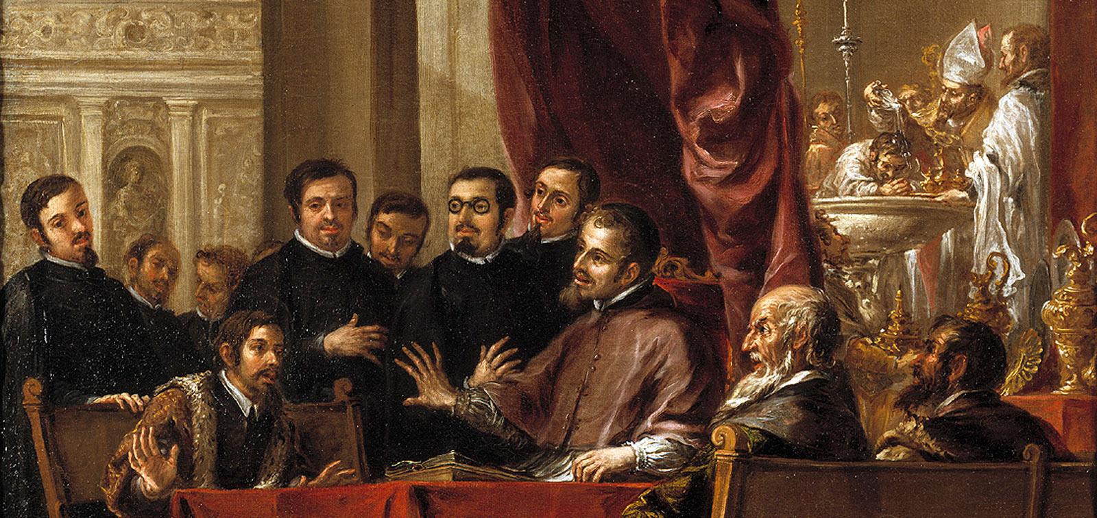 Valdés Leal: La vida de San Ambrosio