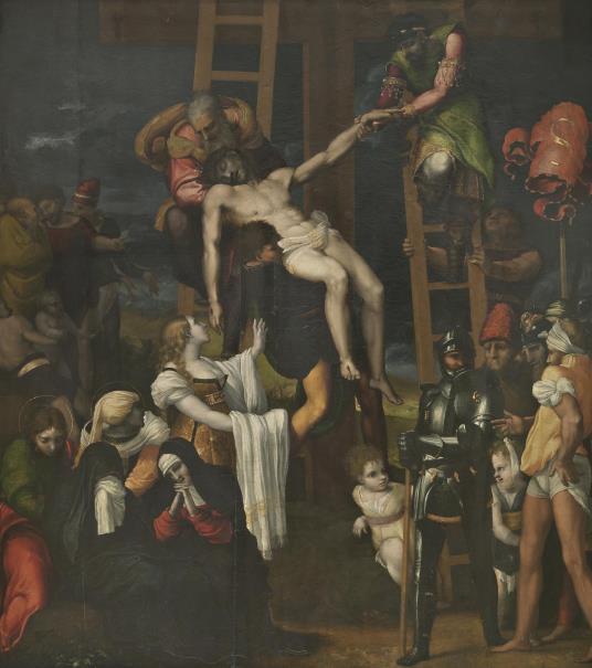 El Descendimiento de la Cruz (reprodución fotográfica)