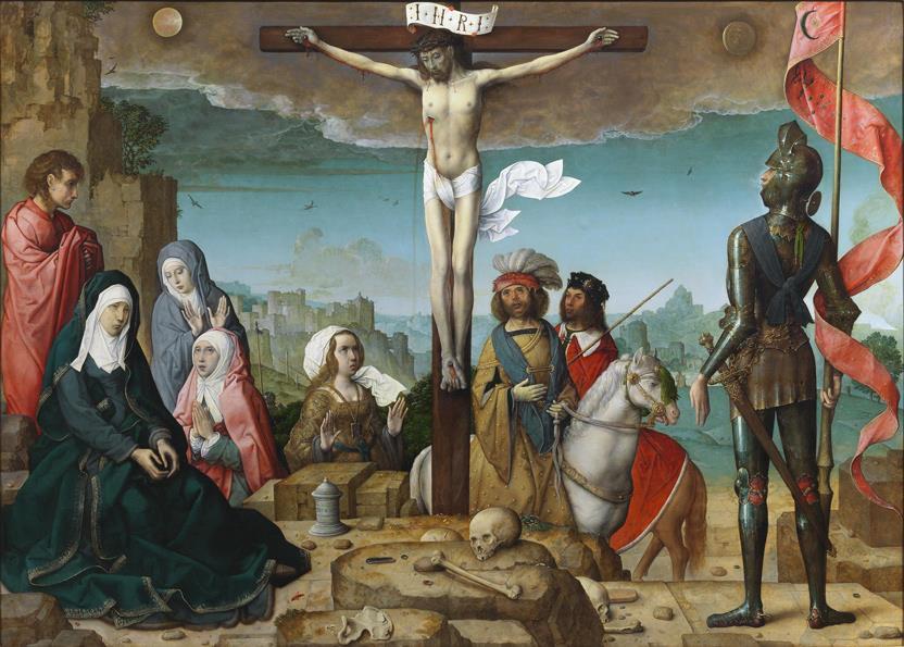 La Crucifixión (reprodución fotográfica)