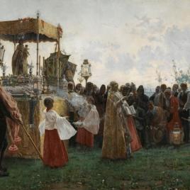 La bendición del campo en 1800