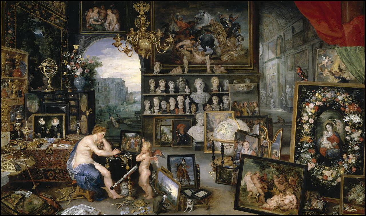 Cinco Sentidos, Los [Brueghel el Viejo].