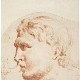 Estudio de relieve romano