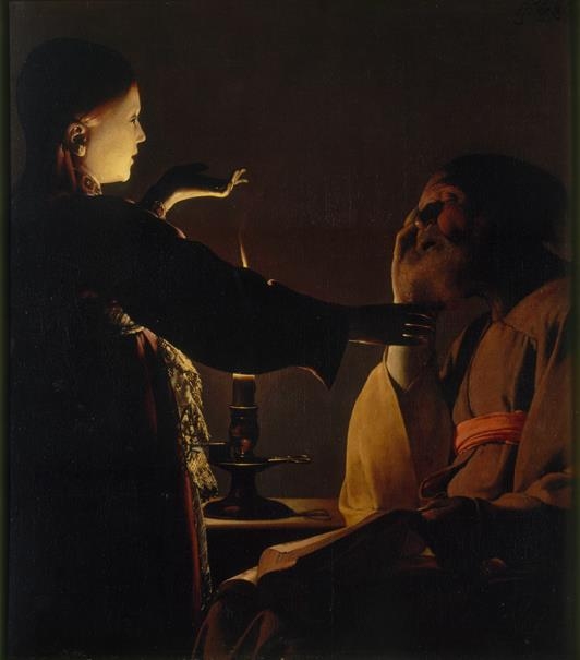 The Angel Appears to Saint Joseph