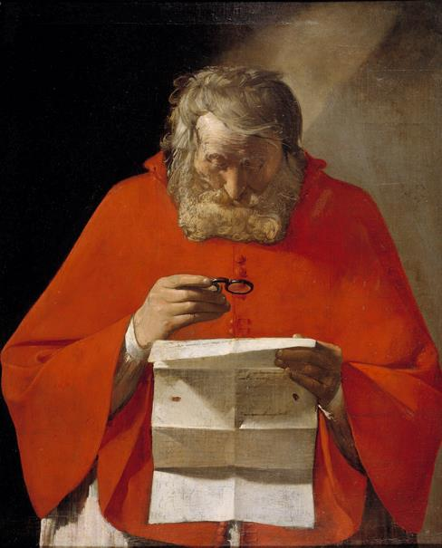 Saint Jerome Reading a Letter