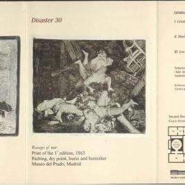 The Disasters of the War / Museo Nacional del Prado.