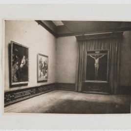 Museo del Prado, vista de una sala con obras de Velázquez