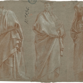 Tres figuras masculinas