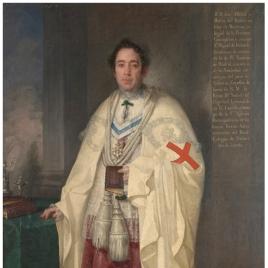 El canónigo José Olcina y Macía, caballero de Montesa