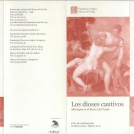 Los dioses cautivos : mitología en el Museo del Prado / Museo Nacional del Prado.