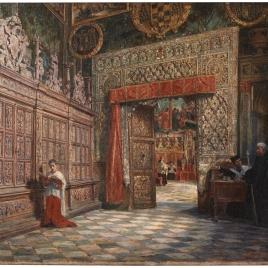 Antesala y sala capitular de la catedral de Toledo