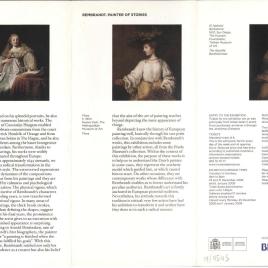 Rembrandt : pintor de historias = Rembrandt : painter of stories / Museo Nacional del Prado.