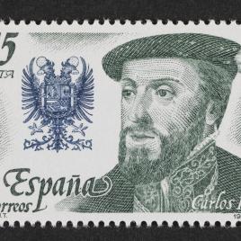Serie de sellos Reyes de España. Casa de Austria