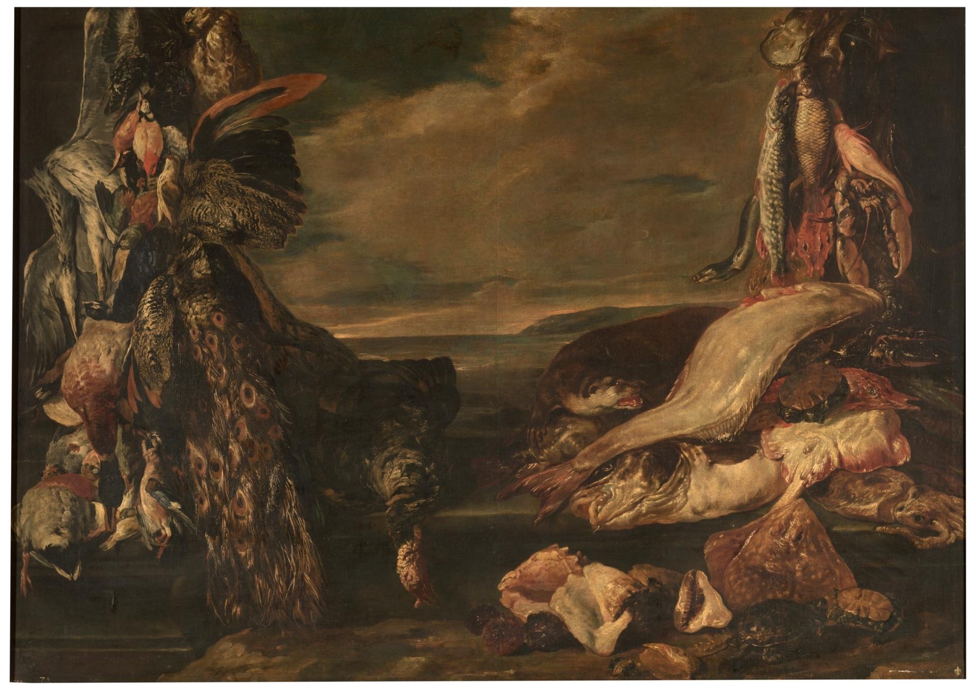 Caza y perros - Colección - Museo Nacional del Prado