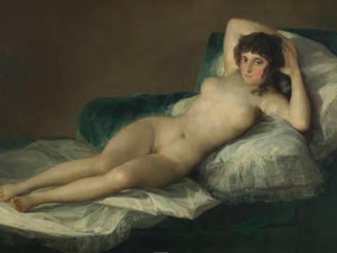<em>La maja desnuda</em>, Francisco de Goya y Lucientes, comentada por Gregorio Prieto