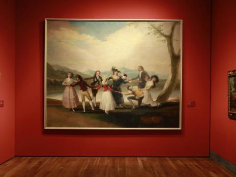 Los cartones de Goya en el Museo del Prado