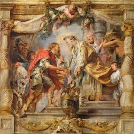El encuentro de Abraham y Melquisedec