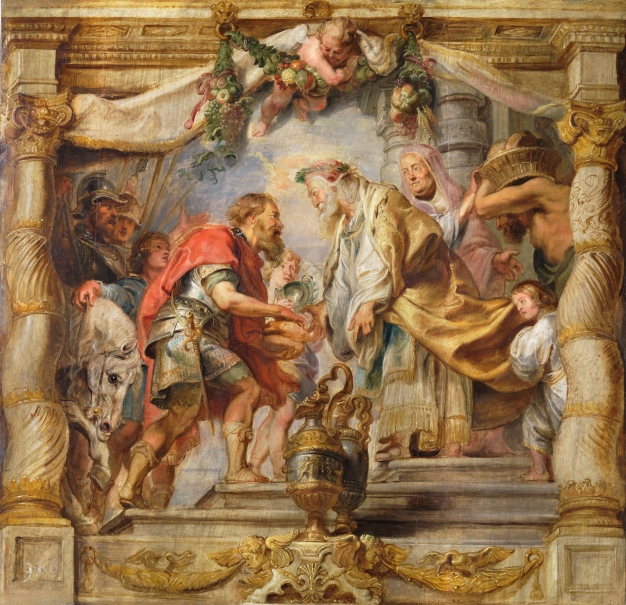 The Meeting of Abraham and Melchizedek