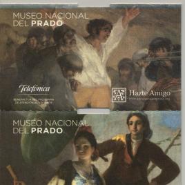 Siete billetes de entrada al Museo del Prado [2013-2018]