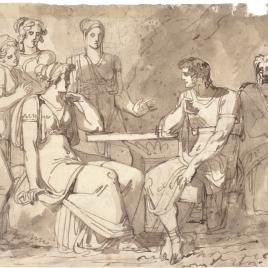 Escena de la Antigüedad clásica
