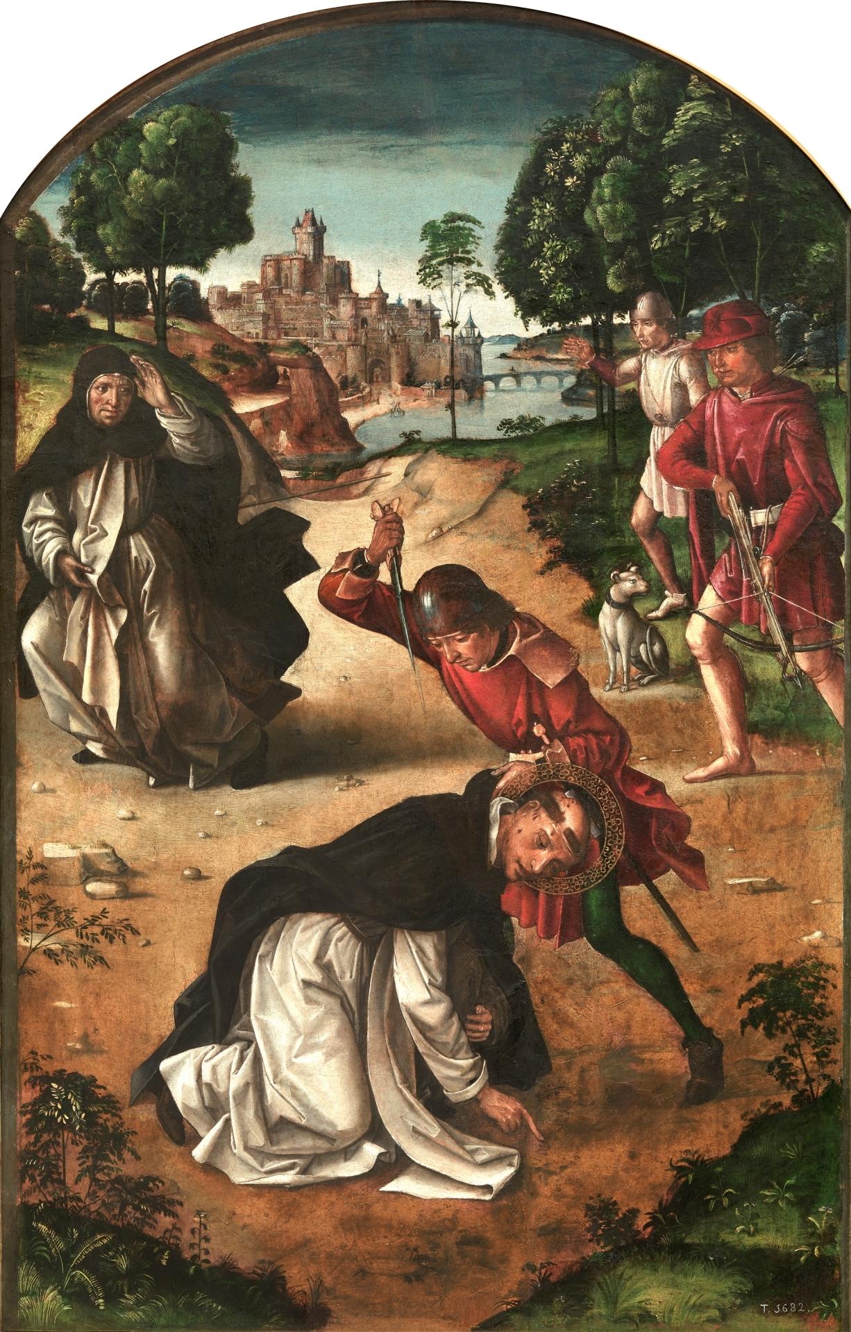 La Muerte De San Pedro Mártir Colección Museo Nacional Del Prado