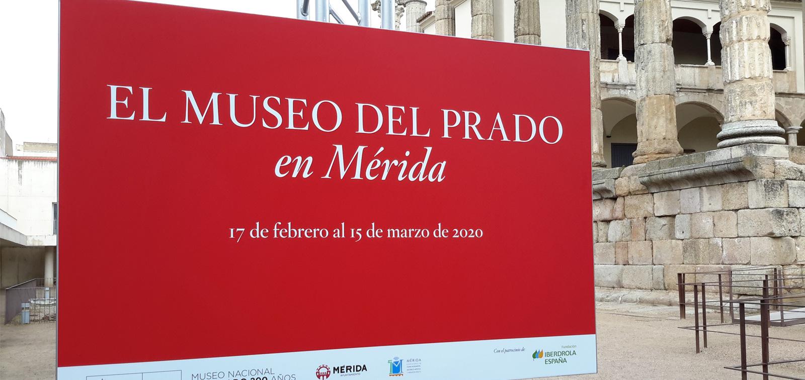 Exposición didáctica: El Museo del Prado en Mérida