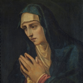 La Virgen en contemplación