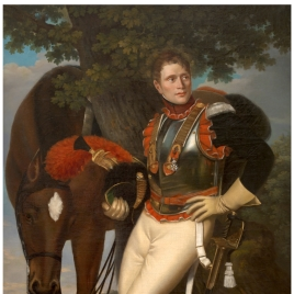 The Cavalry Soldier Jean-Baptiste Poret-Dulongval