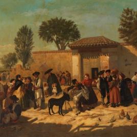 El parador de Navajas (afueras de Madrid, en el portillo de Valencia)