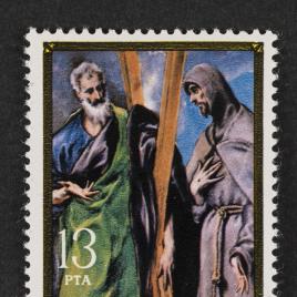 Serie de sellos Homenaje a El Greco