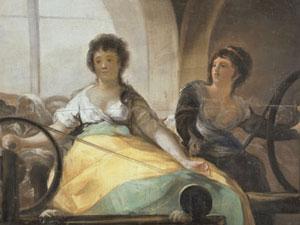 Los trabajos de las mujeres en el Museo del Prado