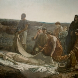 Entierro de santa Leocadia