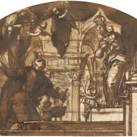 Aparición de la Virgen del Buen Consejo a San Luis Gonzaga