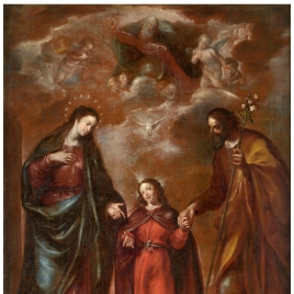 The Holy Family or Trinity on Earth