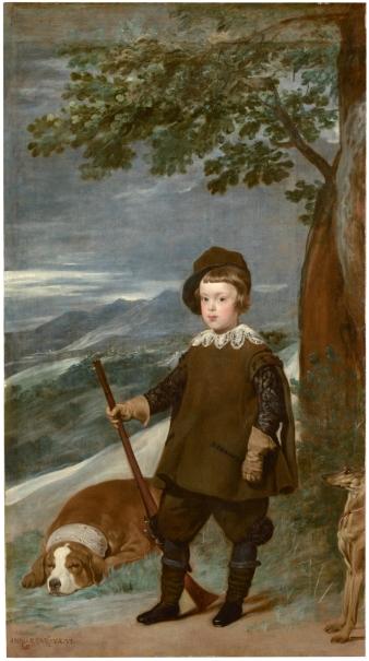 Prince Baltasar Carlos in Hunting Dress