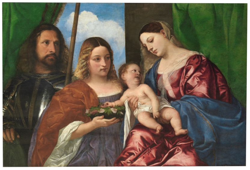 The Virgin and Child with Saint Dorothy and Saint George