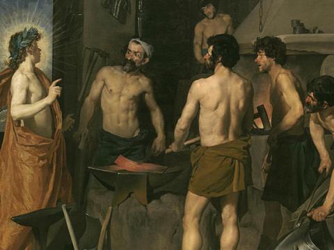 <em>La fragua de Vulcano</em>, Diego Rodríguez de Silva y Velázquez, comentada por José Prat