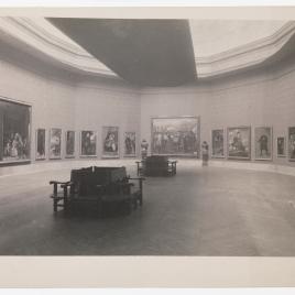 Museo del Prado, vista de la sala de Velázquez