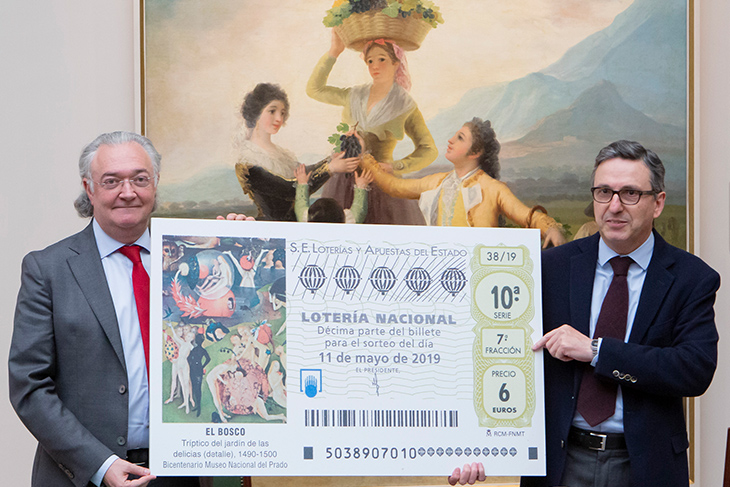 Loterías y Apuestas del Estado se une a la celebración del Bicentenario del Museo del Prado