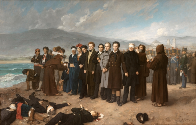 Execution of Torrijos and his Companions on the Beach at Málaga