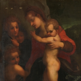 The Virgin with the Child, Saint John and Angels
