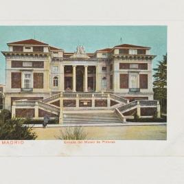 Museo del Prado, vista de la fachada norte o de Goya